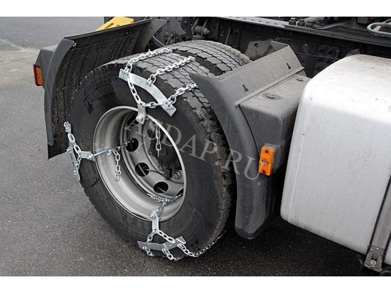 Цепи на колеса грузовика своими руками видео